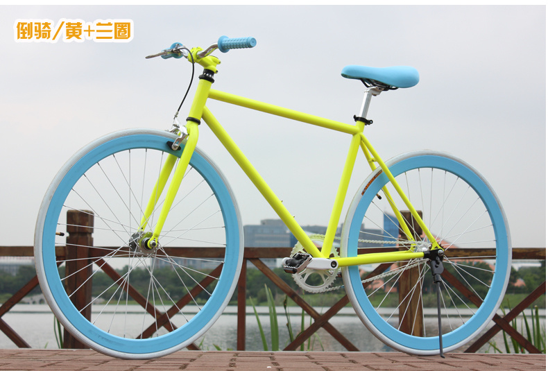 Neue X-Front Marke Luminous High-Carbon Stahl Fixed Gear Retro Bike - Radfahren - Foto 6