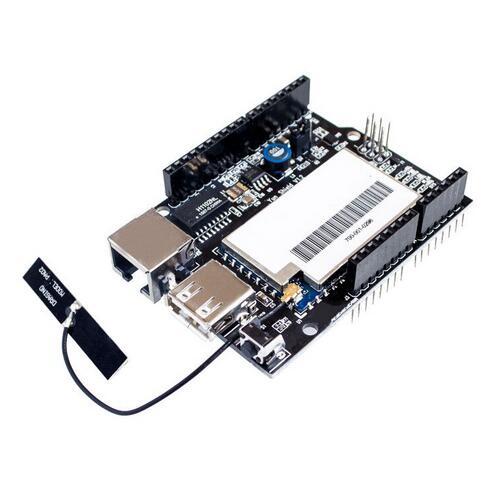 Linux, Wi-Fi, Ethernet, USB, универсальный экран Yun, совместимый с макетной платой Leonardo, UNO, Mega2560, Duemilanove