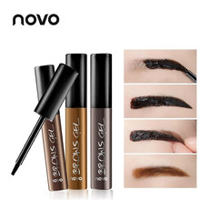 NOVO Newest Tattoo Eyebrow Gel Super Lasting For 3 Days Peel Off Natural Eye Brow Waterproof Longlasting Tint Eye Care Make Up