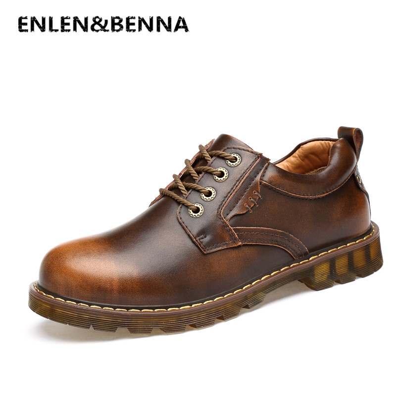 Men Genuine Leather Casual Shoes Leather Brand Men Shoes Work Safety Boots Designer Men Flats Men Work & Safety Shoes Size 38-45 amaginmni men genuine leather casual shoes leather brand men shoes work safety boots designer men flats men work