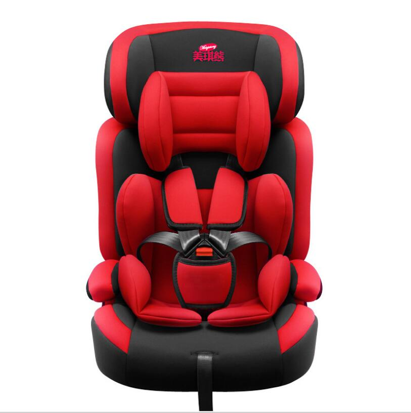 Baby Safety Seat Apply To 9 months -12 years baby Car Seat sent ISOFIX Interface free delivery