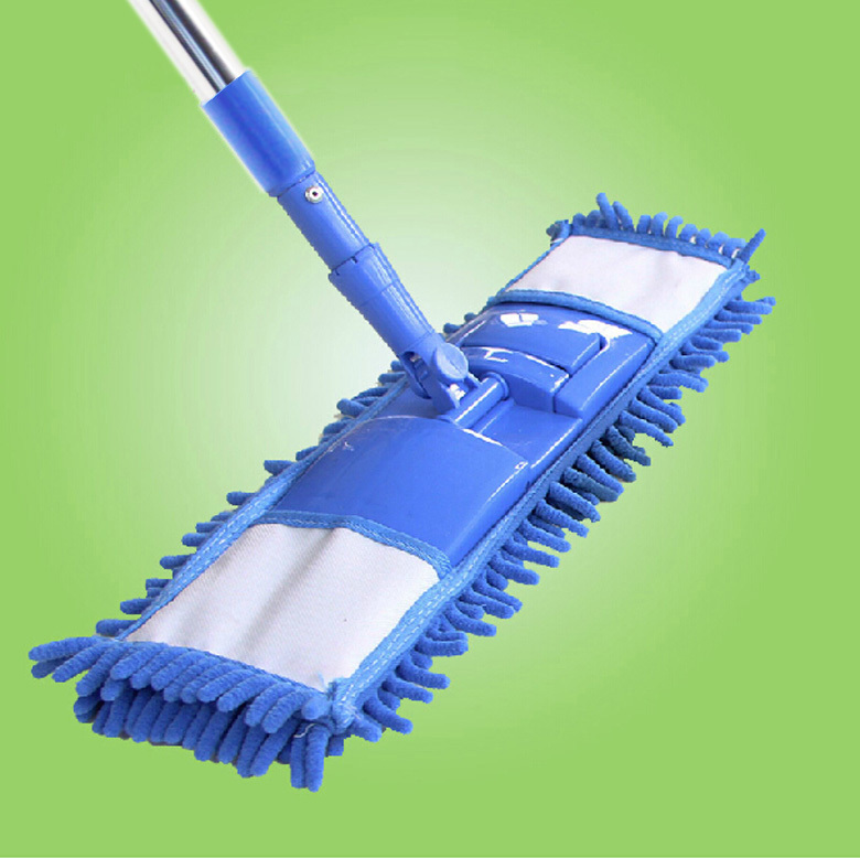 household cleaning tools scalable 360 degree rotation chenille duster mop duster dusting brush. Black Bedroom Furniture Sets. Home Design Ideas