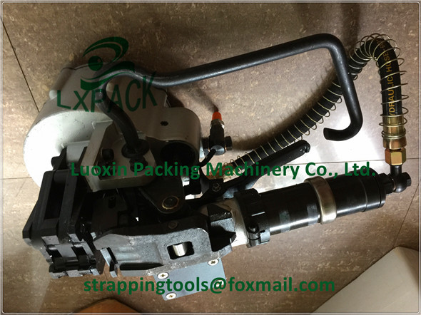 LX-PACK brand lowest factory price Pneumatic pusher type combination steel strapping tool Pneumatic steel strapping tool lx pack brand lowest factory price pneumatic combination steel strapping tools strapping machines and tools bestop hand tools