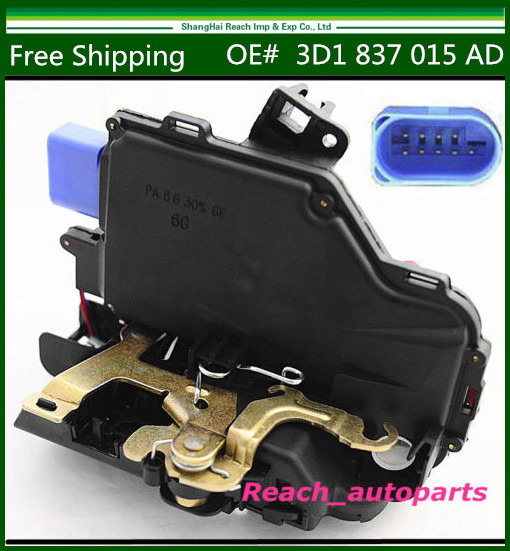 Free Shipping New Front Driver Side Door Lock Latch For VW Golf Jetta Mk5 OE# 3D1 837 015 AD  2006-2010