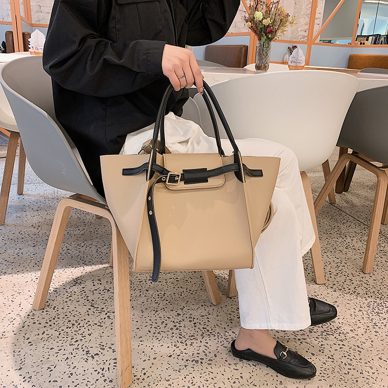HOT Sale Big Bag Female 2019 New Shoulder Bag Simple Joker Messenger Bag Large-capacity Tote Bag Bag For WomenHOT Sale Big Bag Female 2019 New Shoulder Bag Simple Joker Messenger Bag Large-capacity Tote Bag Bag For Women