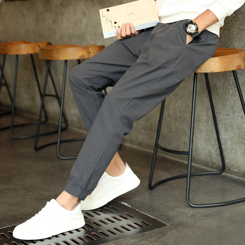 Cheap Wholesale New Year And Autumn 2019 Hot Selling Fashion Men's Leisure Pants