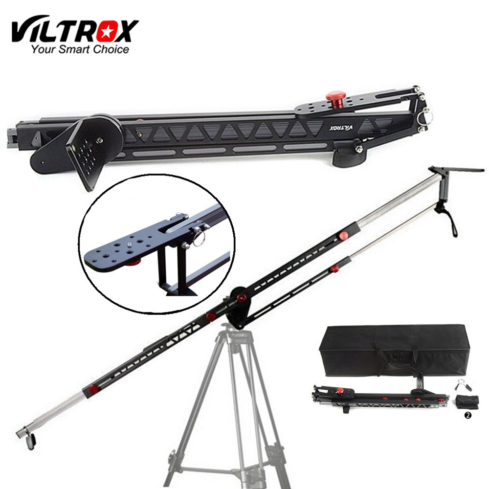 Viltrox YB-3M 3m Professional Extendable Aluminum Alloy Strong Camera Video Crane Jib Arm Stabilizer for Canon Nikon Sony DSLR professional dv camera crane jib 3m 6m 19 ft square for video camera filming with 2 axis motorized head