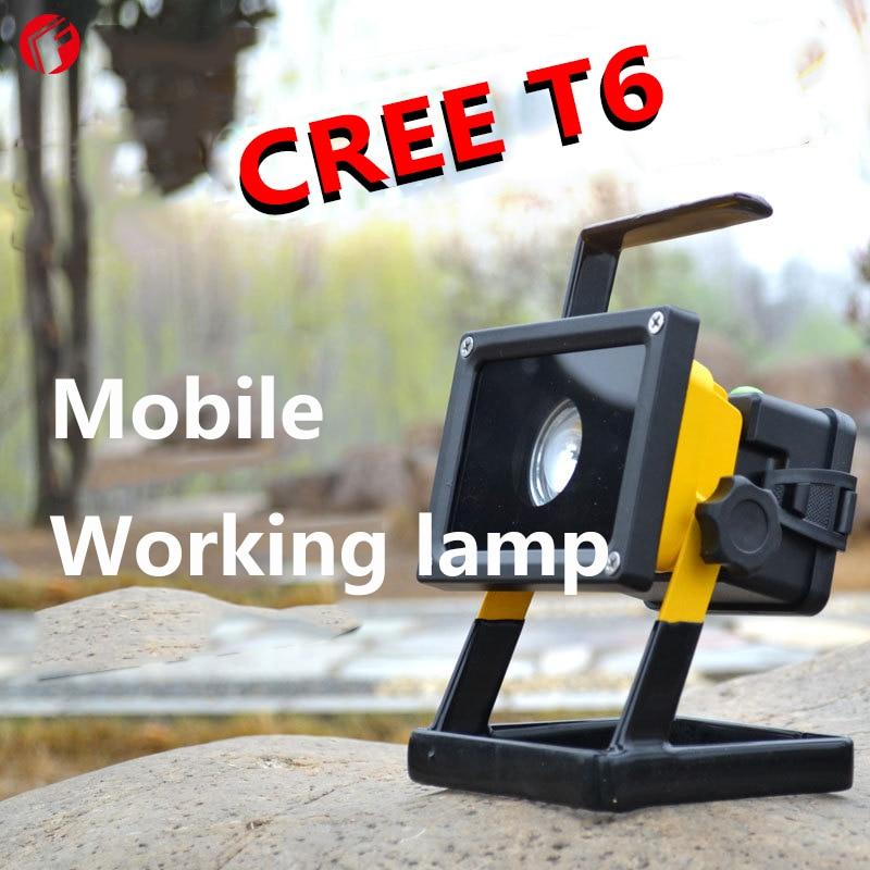 ФОТО LED CREE T6 Held portable searchlight 18650 Night patrol Repair camping hunting Construction work Prerequisites LED Flashlight