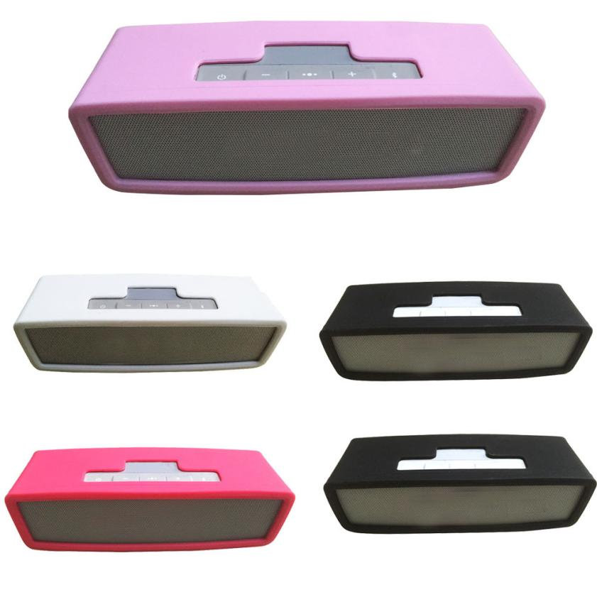 High Quality Silica gel Carry Travel Cover Bag For Bose SoundLink Mini Bluetooth Speaker Compact Stylish