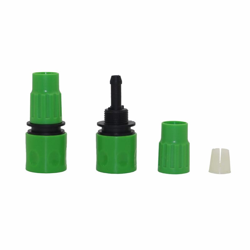 "One-Way Quick Connector Connection 3/8"" Hose Garden Watering Hose Connector Gardening Tools and Equipment Agriculture Tools 1 Pc 4"