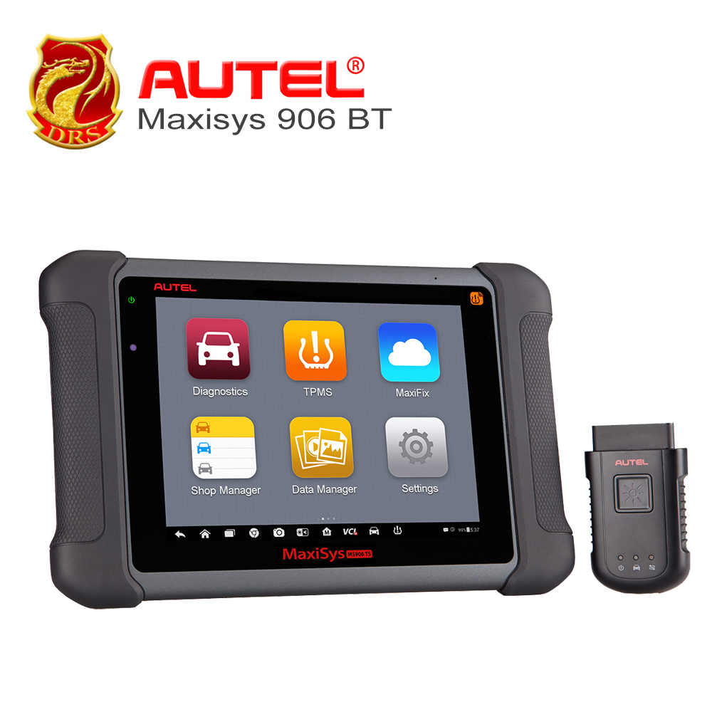 8 AUTEL Car full system Diagnostic Tool MaxiSys MS906 BT Android 4.4.2 OS Free Online Update ECU Coding Advanced car scanner
