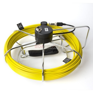 """Image 5 - Pipe Inspection Camera System Equipment Pipe Sewer Camera With DVR Function 7"""" LCD Monitor 20m Cable 1000TVL Night Vision"""