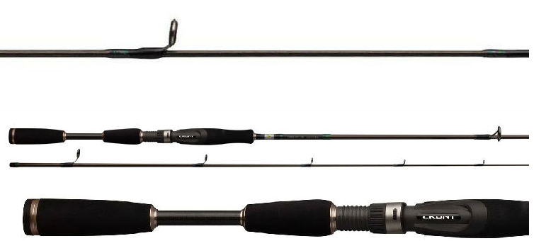 Casting Lure Rod 2 Section Carbon Power M 1.98m Fishing Rod