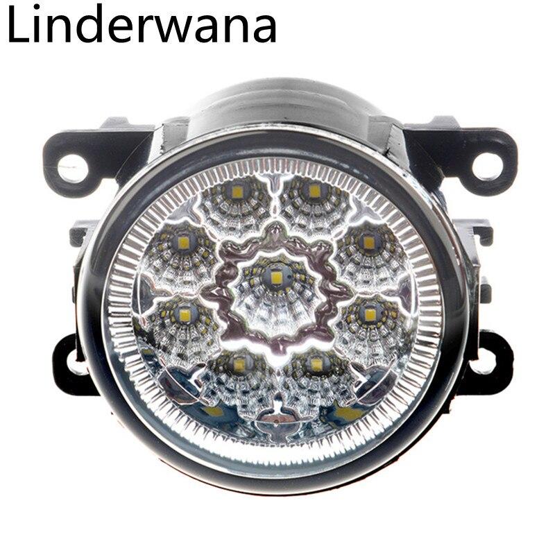 Fog Lamp Assembly Super Bright Fog Light For Citroen C3 C4 C5 C6 C-Crosser Xsara Picasso 1999-2015 Led Fog Lights DRL Lamp 2Pcs