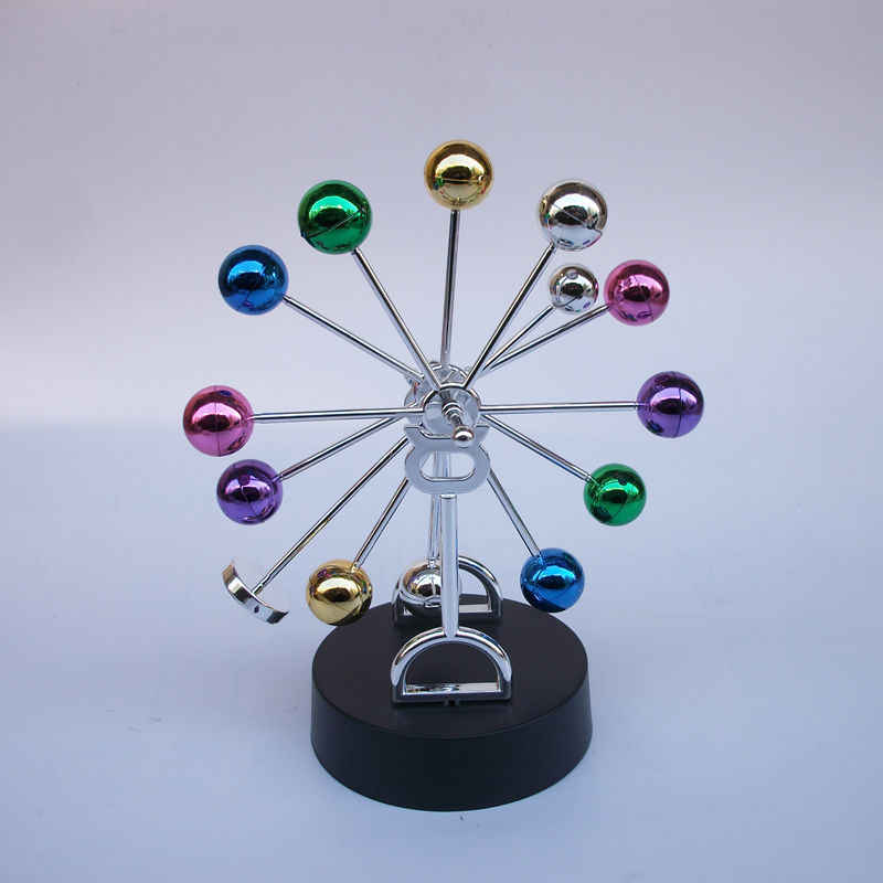 2018 красочные вращения колесо обозрения маятник Ньютона шар для украшения дома