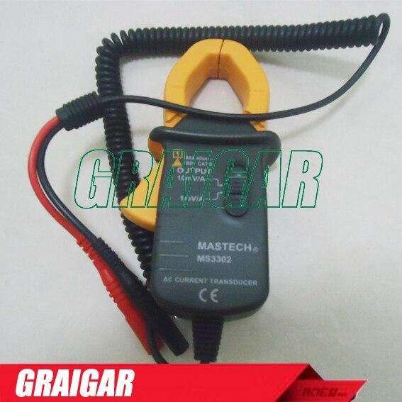 Mastech MS3302 переменного тока 0.1A – 400A токоизмерительные преобразователя правда RMS бесплатная доставка
