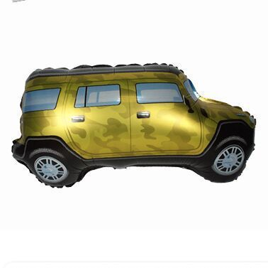 Detail Feedback Questions About 1pcs Camouflage Car Foil Balloons