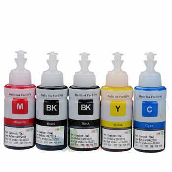 Non OEM Printer Ink for Epson L100 L110 L120 L132 L210 L222 L300 L312 L355 L350 L362 L366 L550 L555 L566 printer - DISCOUNT ITEM  0% OFF All Category