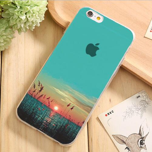 Painting Pretty Landscape Pretty Marie Silicon Phone Cases