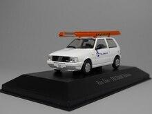 Auto posadero IXO 1:43 Fiat Uno telemar telefonia Diecast modelo de coche