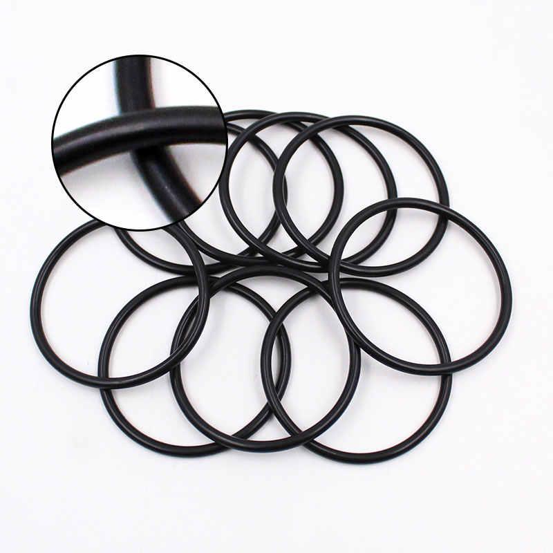 ฟลูออรีนแหวนยางสีดำ FKM Oring ซีล OD52/54/55/56/58/60/62 /65/68 * ความหนา 3 มม.O แหวนซีลปะเก็นน้ำมันเชื้อเพลิงซีลเครื่องซักผ้า