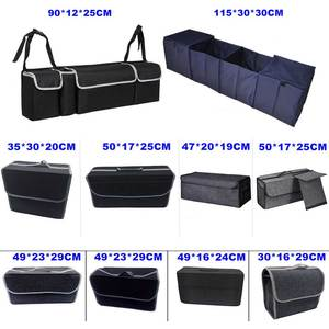 Image 1 - Car Trunk Organizer Storage Bag Box Foldable Multipurpose Trunk Storage Bag Box Stowing Tidying Auto Accessories Car Styling