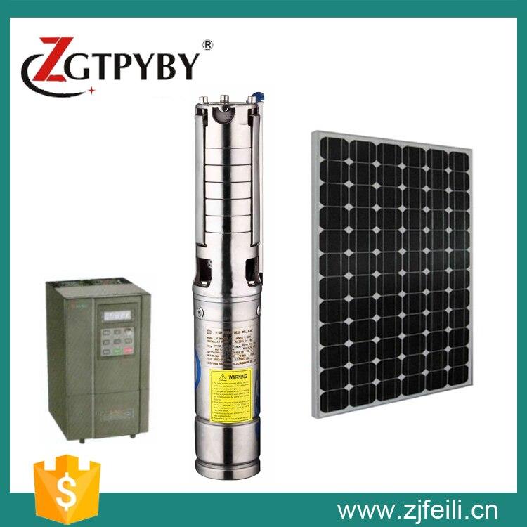 Onwijs Zonne energie irrigatie waterpomp zonne energie dompelpompen diepe VU-13