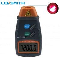 Tacómetro Digital + DT-2234C  tacómetro de motor  herramienta de tacómetro sin contacto  tacómetro láser de mano para foto  medidor de velocidad