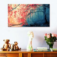 diy oil painting  The maple digital paint by numbers modular home decor for living room