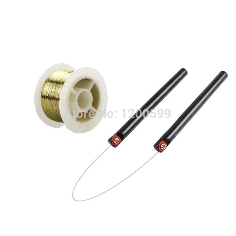 0.08mm 50M Golden Molybdenum Wire Cutting Line With Handle For Iphone 4/4s/5/Samsung S4/S3 Glass LCD Screen Separator