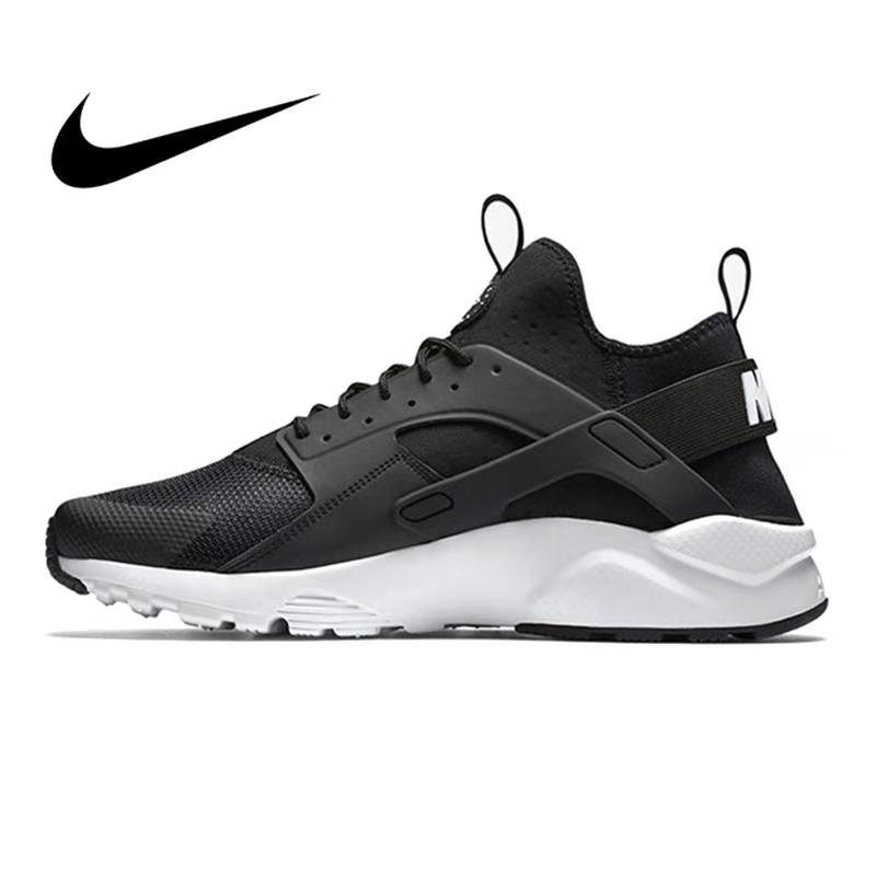 Original Authentic NIKE AIR HUARACHE Cushioning Men's Running Shoes Low-top Sports