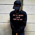 Marca de Moda Streetwear Tapas de VETEMENTS Fantasías Rojo Cartas Bordado Gorra de Béisbol de Impresión Negro Snapback Correa volver Sombreros Frescos