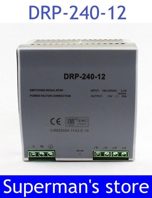 Din rail power supply 240w 12V power suply 12v 240w  ac dc converter dr-240-12 good quality