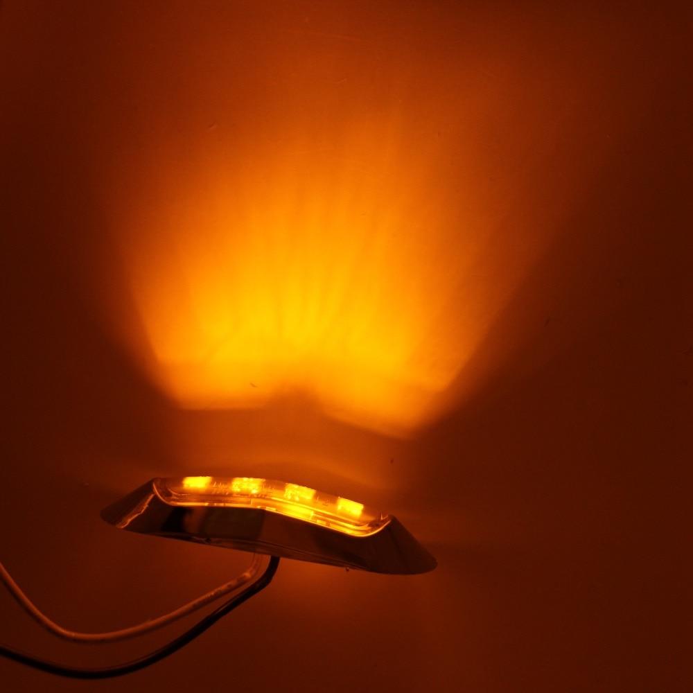 2 pcs Mobil LED Light 10-30 V Trailer Truk Lampu Belakang Amber Merah - Lampu mobil - Foto 6