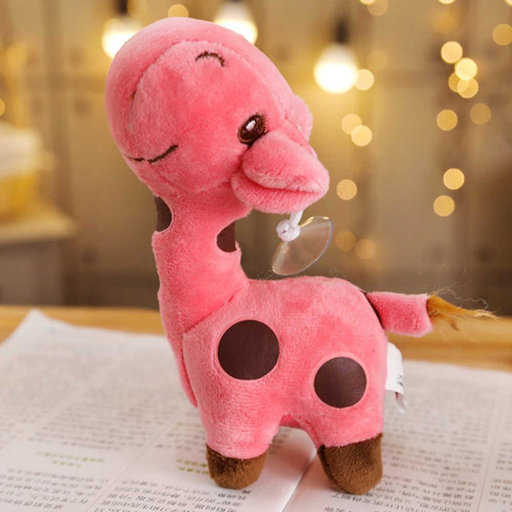 18 センチメートルユニセックスかわいいギフトぬいぐるみキリンぬいぐるみ動物親愛なる人形ベビーキッズ子供クリスマス誕生日ハッピーカラフルなギフト面白いおもちゃ
