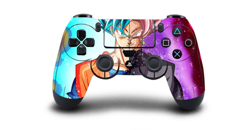 1pc Anime Dragon Ball Super PS4 Skin Sticker Decal For Sony PS4 Playstation 4 Dualshouck 4 Game PS4 Controller Sticker image