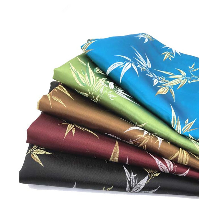 Bamboo Imitation Silk Satin Tapestry Fabric Cloth For Sewing Patchwork Diy  Bag Crafts Materials Furniture Fabric