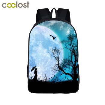 Customize the image Backpack Women Men Travel Bags Anime Children School Bags Backpack Boys Girls Book Bag kids Gift Backpacks
