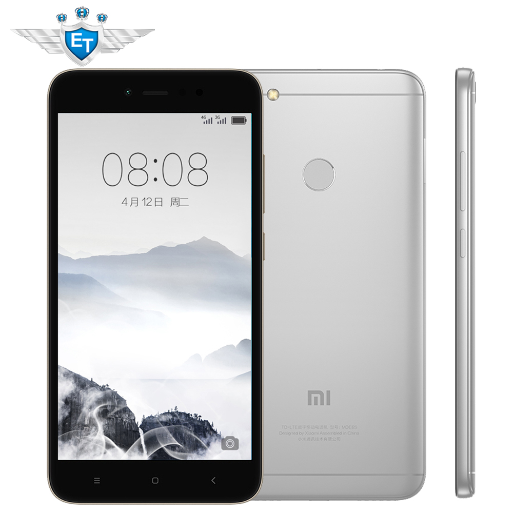 Xiaomi Redmi Note 5a Prime 64gb Rom 4gb Ram Snapdragon 435 Cpu 2 16 Smartphone Fdd Lte 4g 55 Hd 16mp Front Camera Fingerprint Id In Mobile Phones From