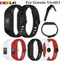 Ремешок для наручных часов Garmin Vivofit 3, мягкий силиконовый сменный Браслет, аксессуар для Garmin Vivofit3