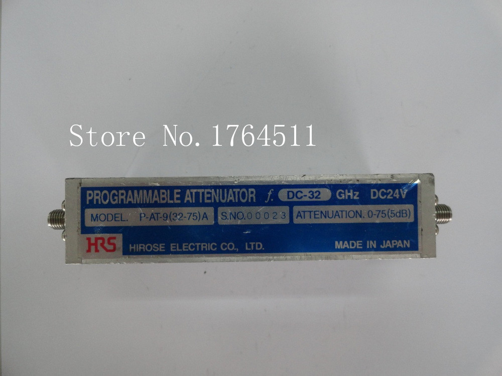 [BELLA] The Programmable Step Attenuator Of HRS P-AT-9 (32-75) A 0-75dB DC-32GHz 24V