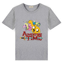 6d4af566498 2018 Summer Fashion Children T Shirt Adventure Time Finn And Jake Design  Boys Girls Clothing