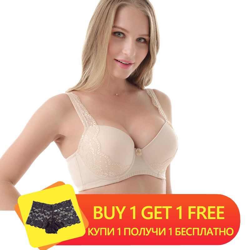 a5501dd6807f9 Women Intimates Lace bras Underwire Push Up Underwear 3 4 Cups Sexy  Brassiere For Women
