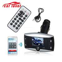 Car Kit Bluetooth Transmitter Hands free Modulator FM Audio MP3 Player SD Slot Hands Free USB Car Charger Adapter For iPhone