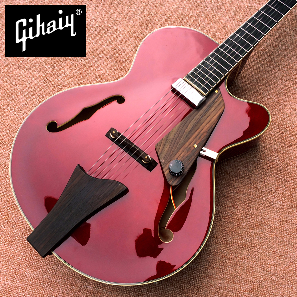 new high quality manufacturers make the best jazz hollow electric guitar a piece of pickups. Black Bedroom Furniture Sets. Home Design Ideas