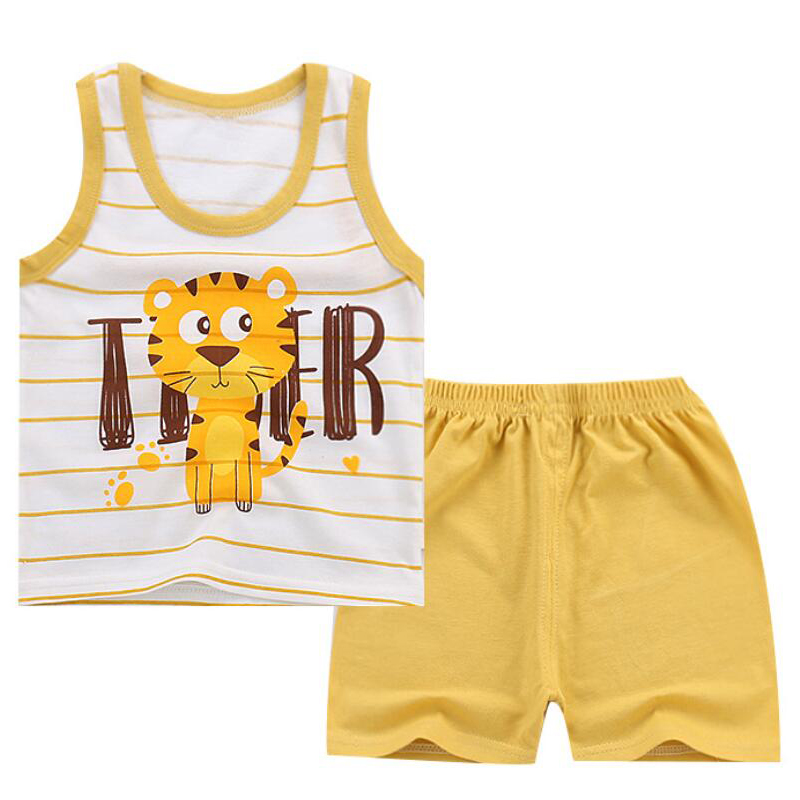 12 24 Months Summer shirt Shorts sets new born clothing boy tracksuit newborn baby clothes set suit for kid apparel 3 4 year