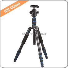 Professional Camera Photographic Tripod Stand Portable Flexible Monopod With 360 Ball head and Protect Leg For Photo and Video