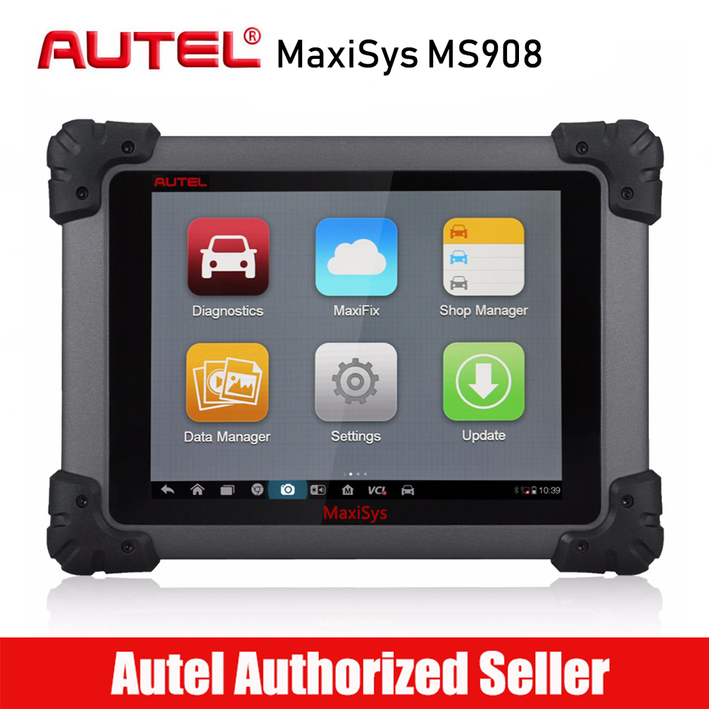 Autel Maxisys MS908 Professional Car Diagnostic Tool Full System OEM Specific OBD2 Scanner Wireless VCI Auto VIN ECU Coding