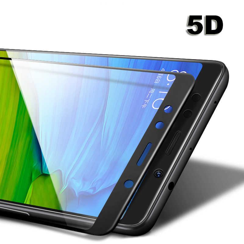 5D Полный Клей закаленное Стекло Для Сяо mi красный mi 5 плюс 5A Pro Примечание 4X mi 6 5X a1 mi x 2 s 3D крышка Экран протектор фильм