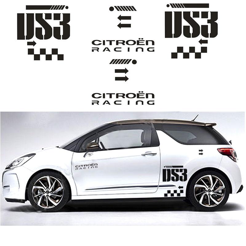 Citroen DS3 roof graphics 002 stickers decals